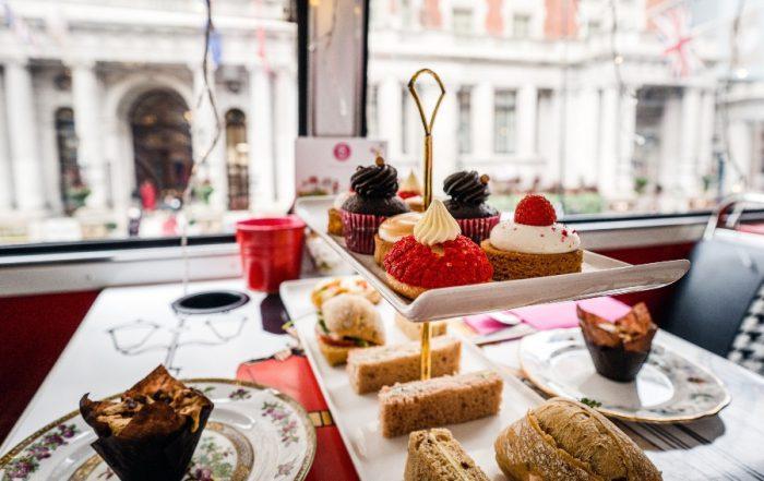 London Food tour - high tea