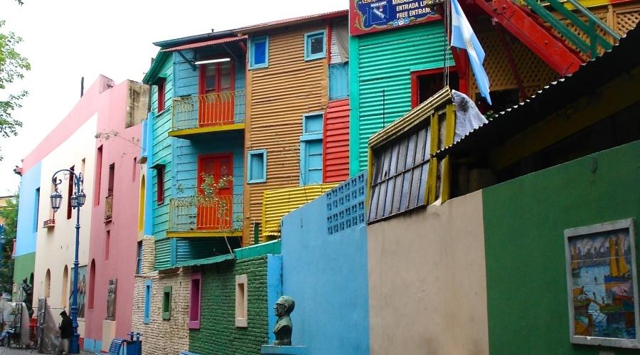Colourful Caminito, Buenos Aries in Argentina