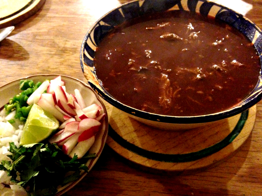 best food in mexico Birria Soup in San Cristobal