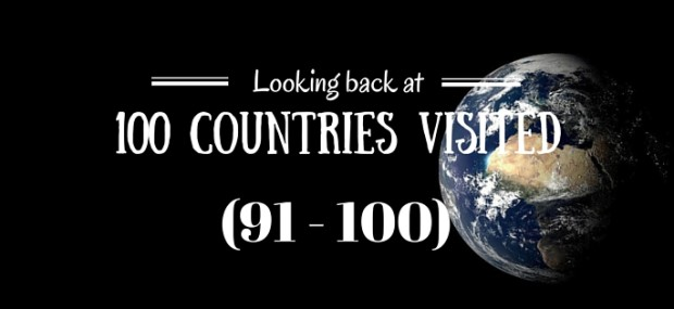 100 countries visited 91-100