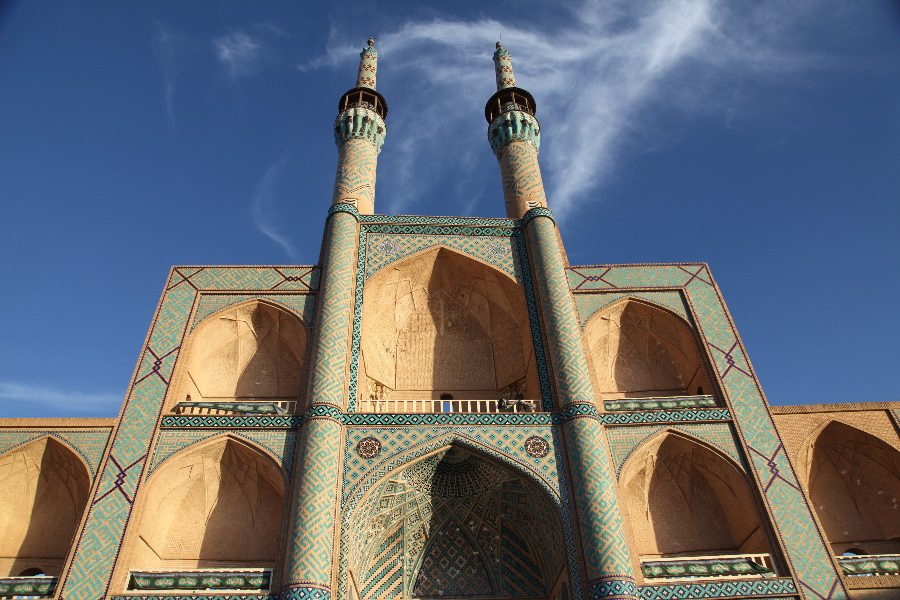 photos of iran mosque in Yazd