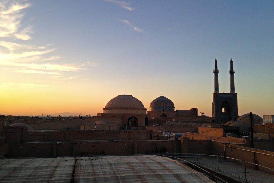 photos of iran Jameh Mosque in Yazd