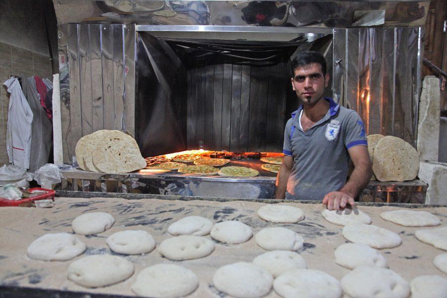 photos of iran baker