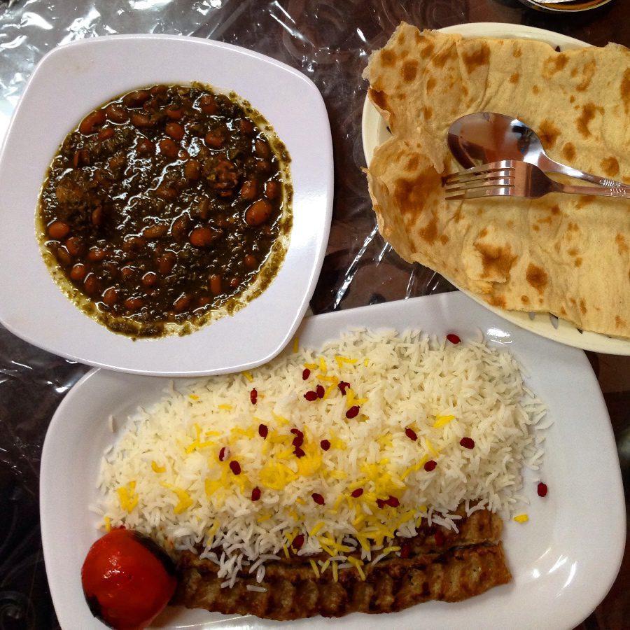 photos of iran kebab and rice