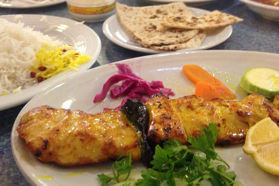 why travel to iran the food