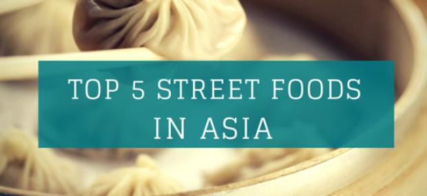 Top five street foods in Asia