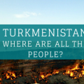 Turkmenistan Where are all the people