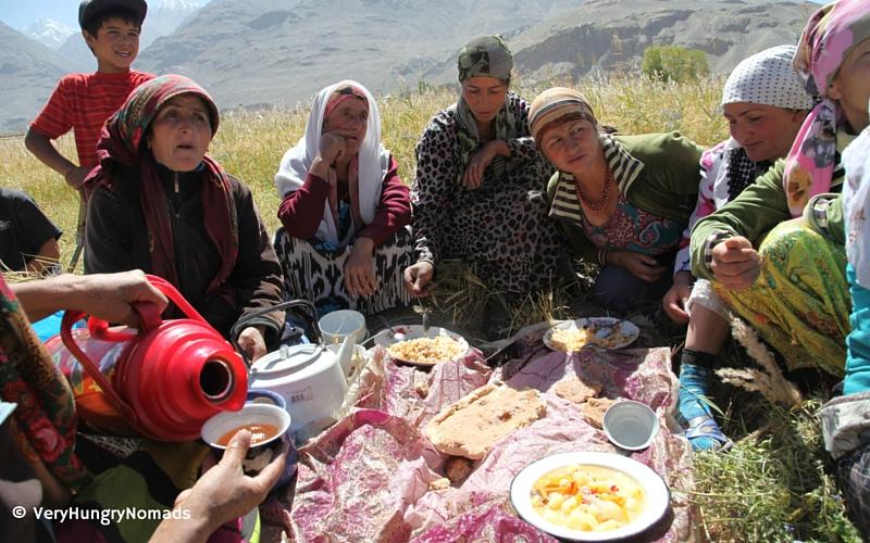 Women of the Wakhan Valley in Tajikistan - People we meet travelling