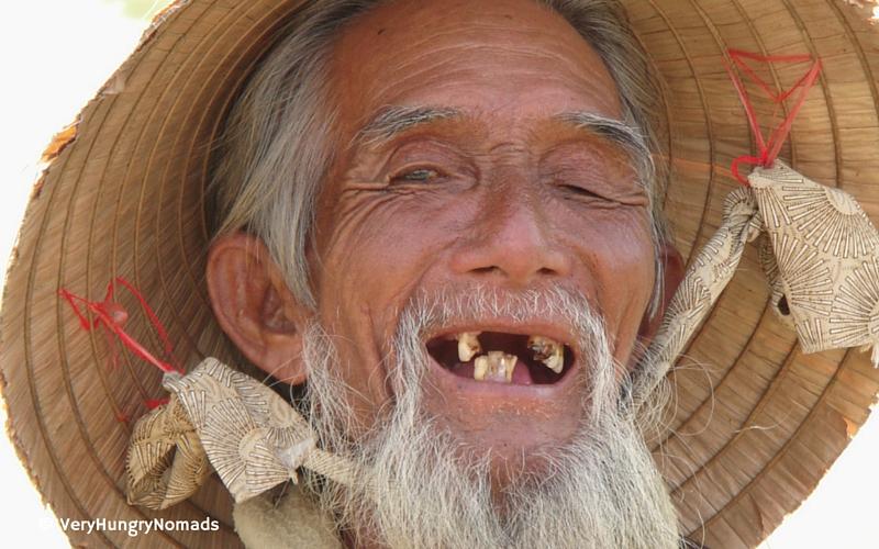 Local fisherman in Hoi An, Vietnam - People we meet travelling
