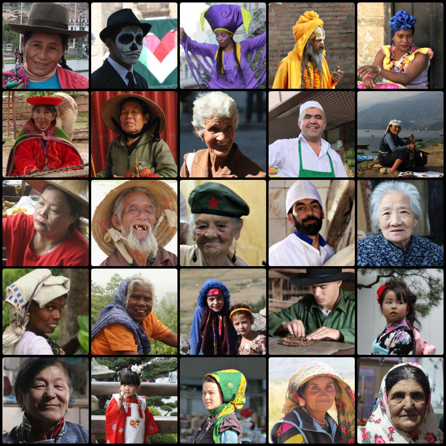 People we meet travelling