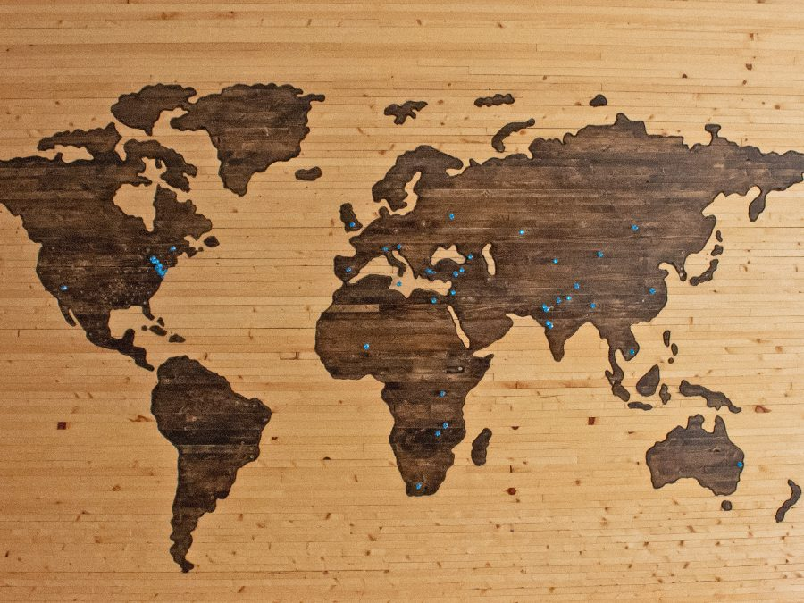 New 7 Wonders of the World Map