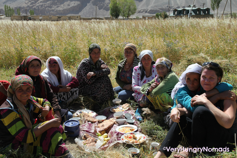 women food of tajikistan