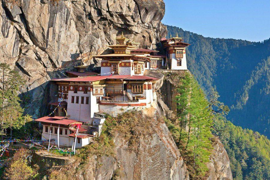 Hardest Countries to visit - Bhutan