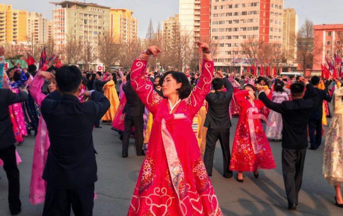 should you visit north korea mass dance