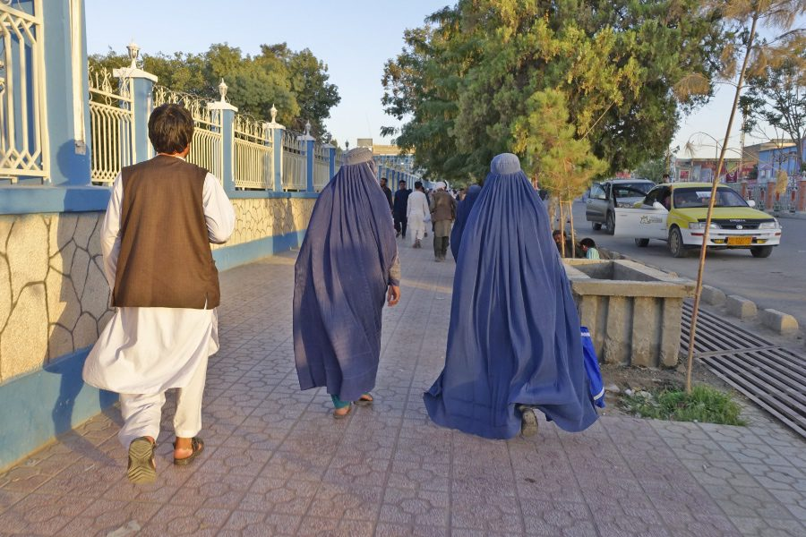 Future of Afghanistan - Men and women in traditional clothing