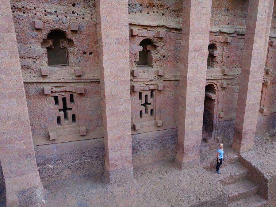 Exploring the beautiful underground churches of Lalibela