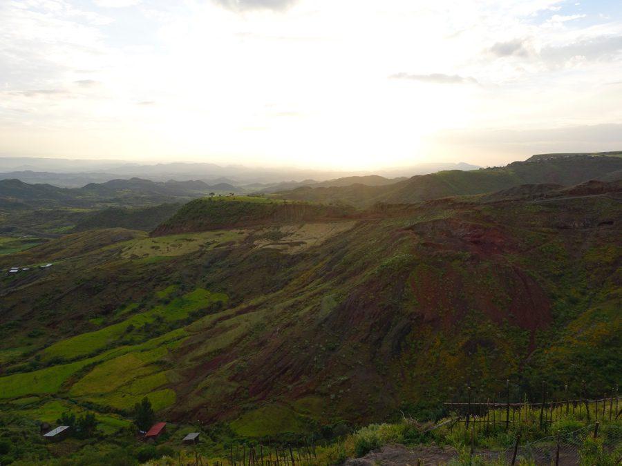 countryside in lalibela