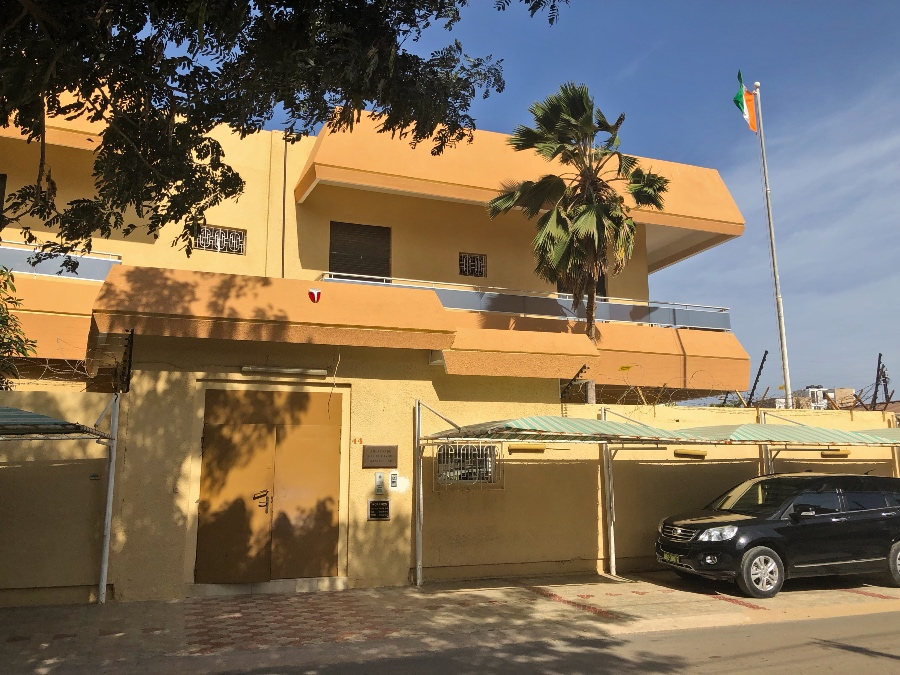 Embassy of Ivory Coast in Dakar, Senegal
