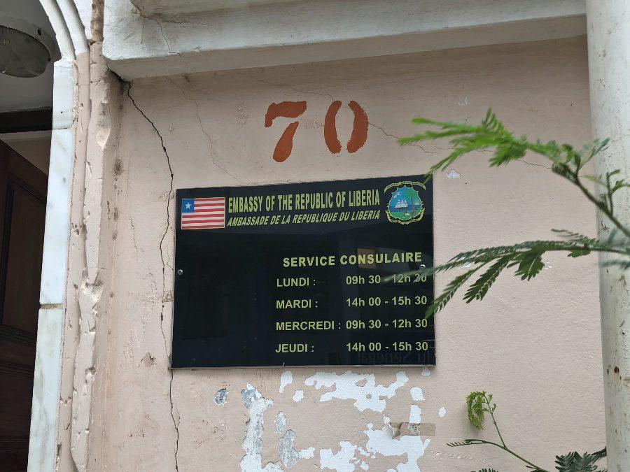 Embassy of Liberia in Dakar - Opening Hours