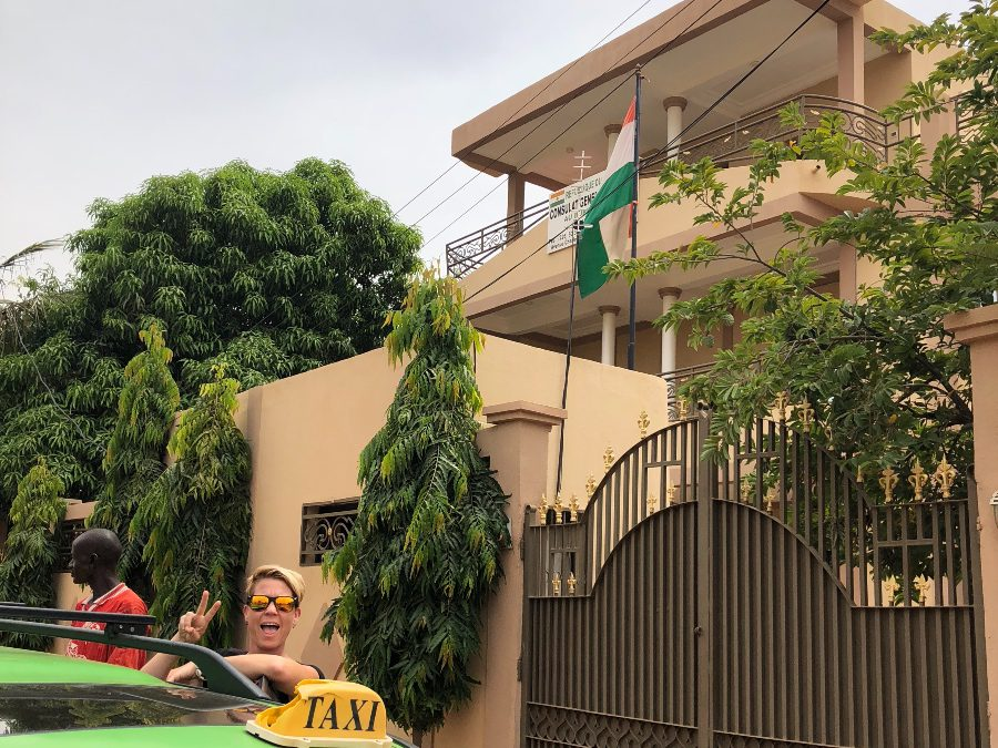 The Niger Consulate in Ouaga