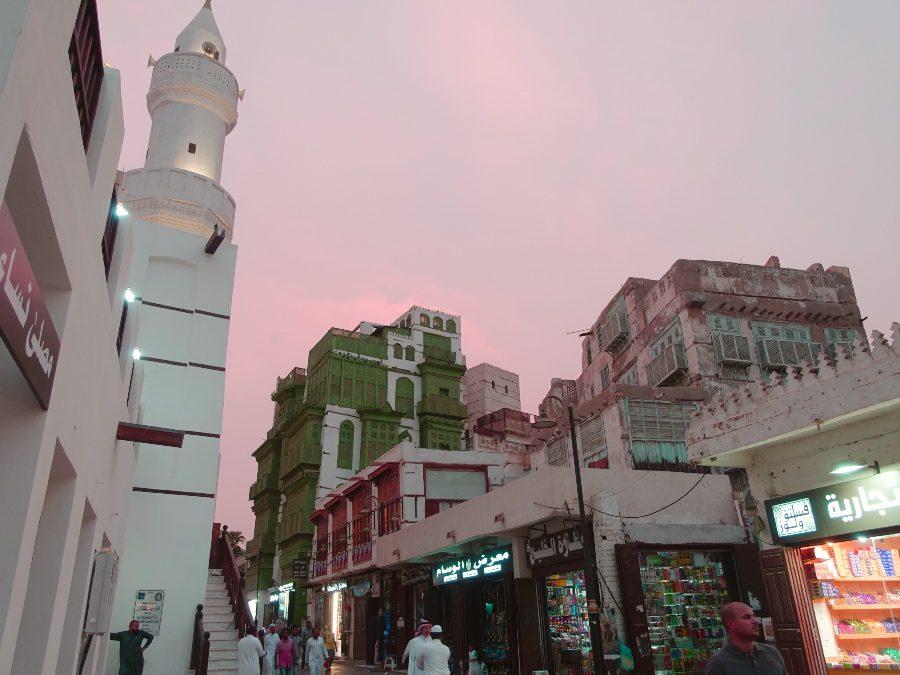 Sunset in Jeddah - Visiting Saudi Arabai