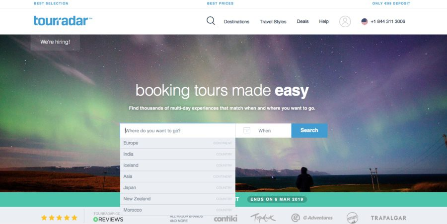 cheapest group tours website
