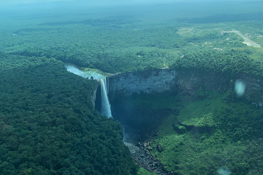 Visit Kaieteur Falls from the plane