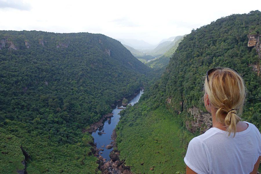 View of the Guyana Kaieteur Falls