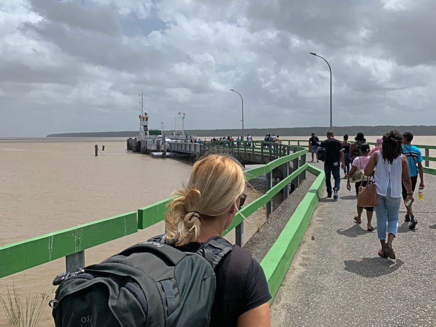 ferry guyana to suriname