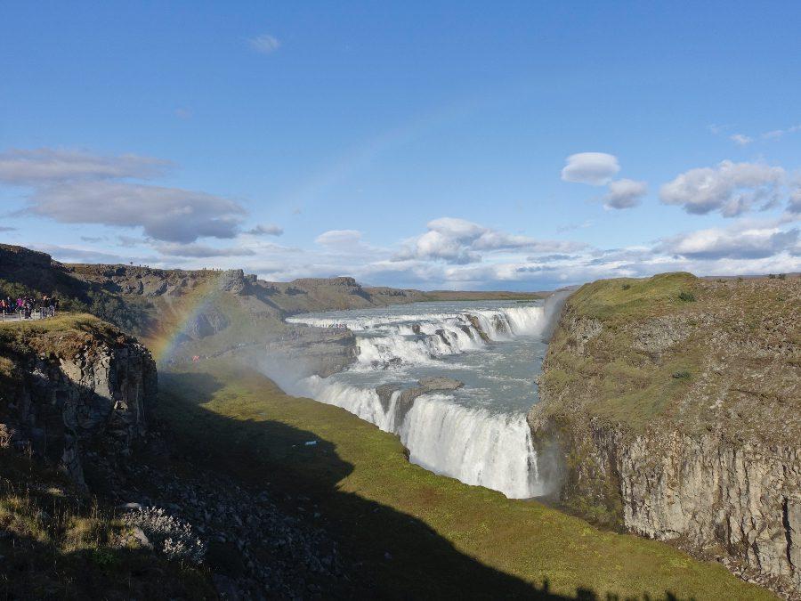 waterfall iceland