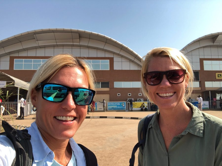 Is it safe to visit South Sudan? At the airport in Juba