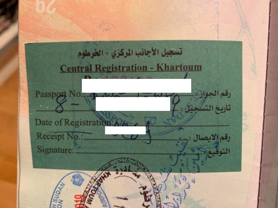 register in sudan
