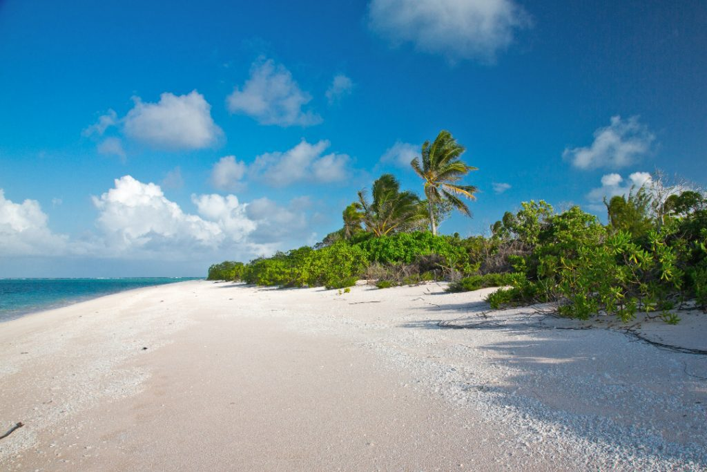 9 countries remain to visit every country in the world Kiribati