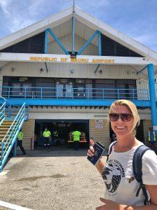 How to get a visa for Nauru in 4 easy steps - Nauru Airport