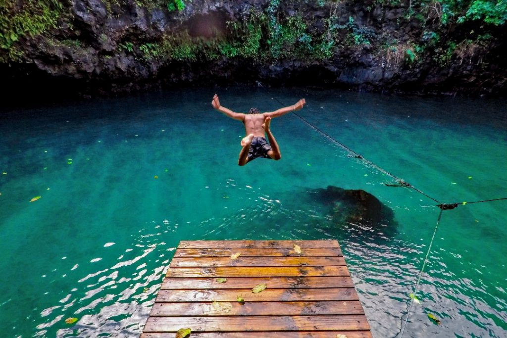 9 countries remain to visit every country in the world Samoa