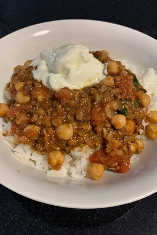 easy chickpea curry recipe