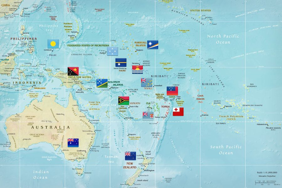 How to visit every country in the Pacific