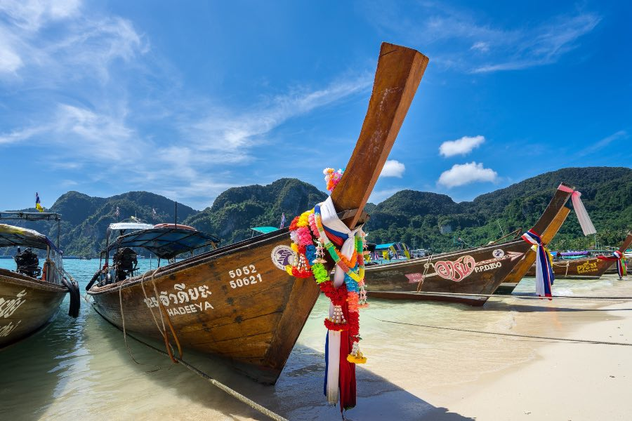 travel tips for Thailand boat