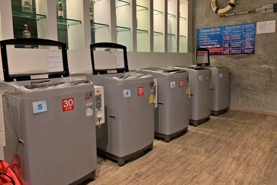 travel tips for Thailand self-laundry
