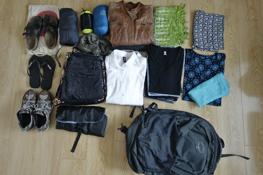 best packing list for travellers