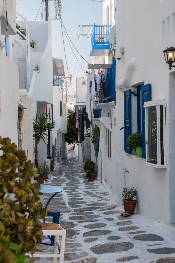 Greece in two weeks - Mykonos town