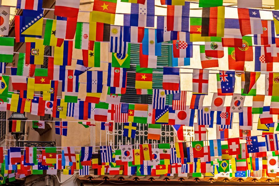 How Many countries in the world flags