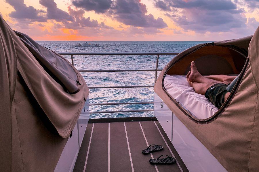 reefsleep sunset