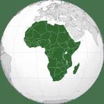 Africa-on-globe