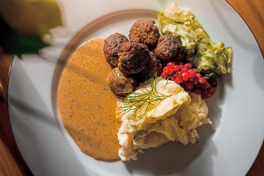 Food Map of Europe - Sweden
