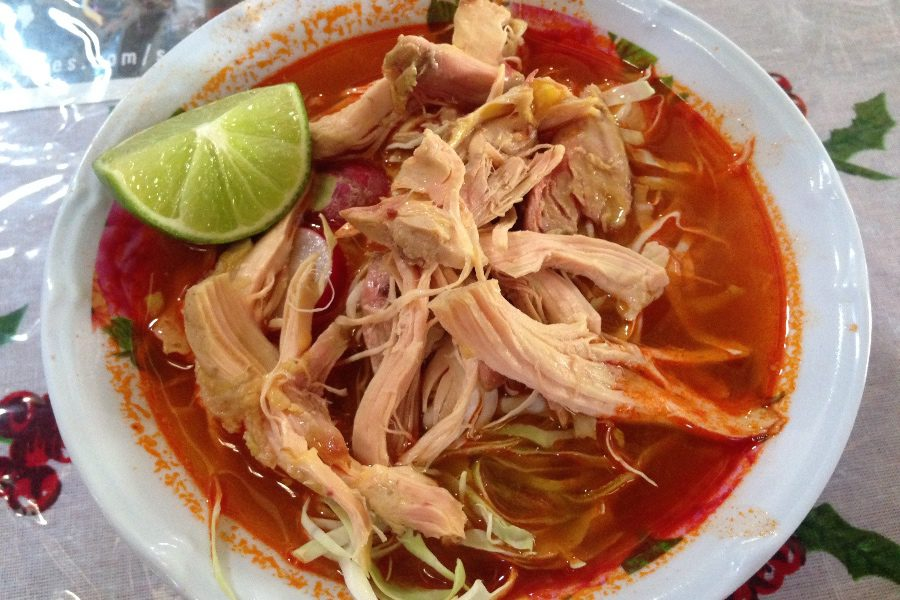 pozole is one of the best foods to try in oaxaca