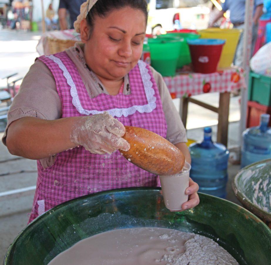 Best foods to try in Oaxaca tejate drink