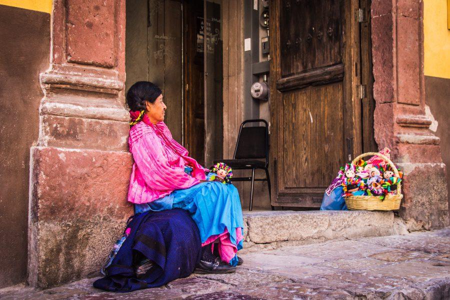 best foods to try in Oaxaca woman