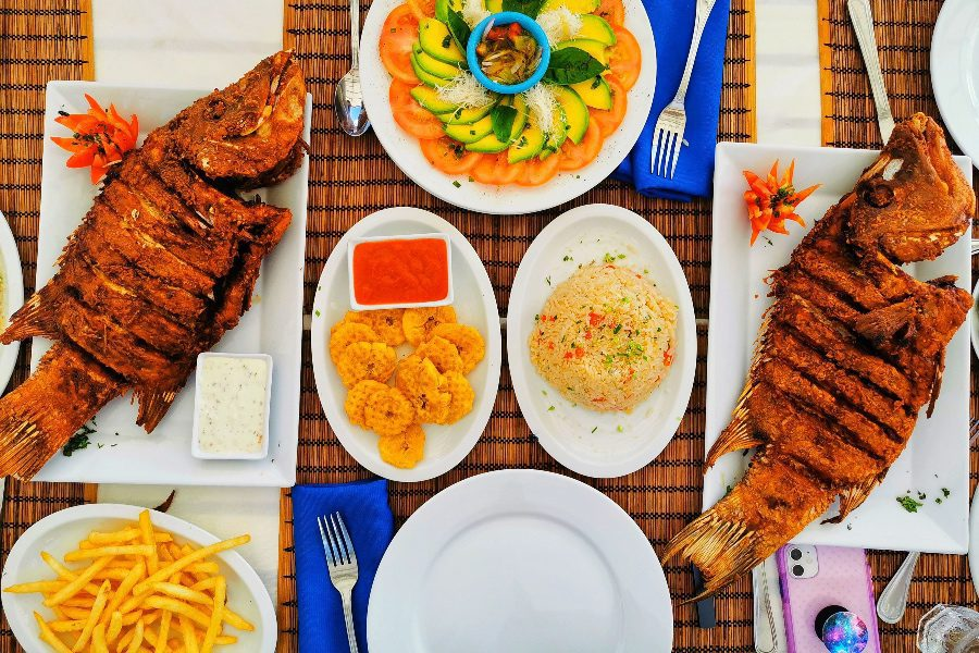 What to eat in Haiti grilled fish