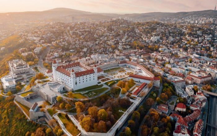 Slovakia vs Slovenia - The capital city of Slovakia Bratislava